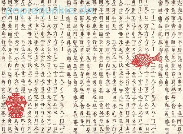 Chinesisches Abc