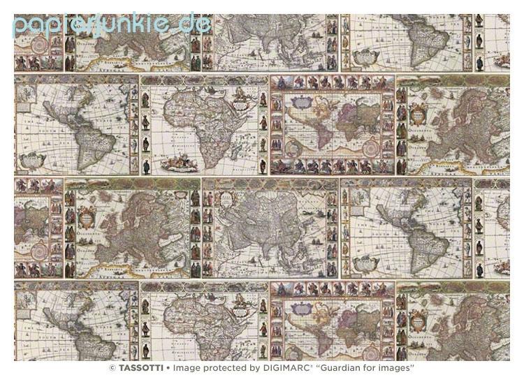 geschenkpapier weltkarte Geschenkpapier Weltkarten und Landkarten   Papierjunkie.de geschenkpapier weltkarte