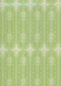 Geschenkpapier 18th Century French Lace, Green (5 Bogen)
