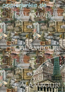 Decoupage-Papier Cities of the world %